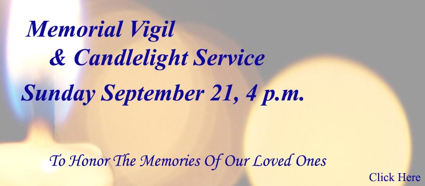 Memorial Vigil and Candlelight Service